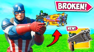 *NEW* BROKEN AUTO PISTOL IS OP!! - Fortnite Funny Fails and WTF Moments! #963
