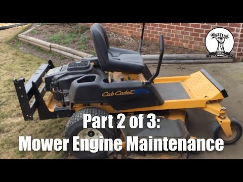FULL - Lawn Mower Engine Maintenance - Part 2