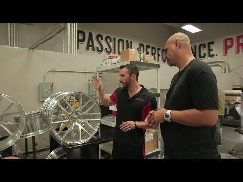 How It's Made - Custom Ferrari Wheels, pt. 1