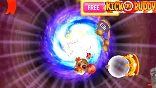 Download Buddy VS Hot Spring Crystal Ball and Retro Fireball - Kick The Buddy Walkthrough Part 19 Video