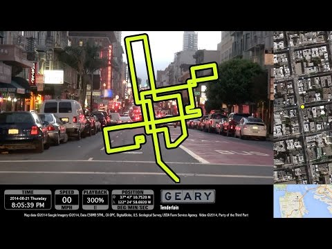Narrated Random Mediocre Drivelapse With Tangents: Touring part of San Francisco randomly by car