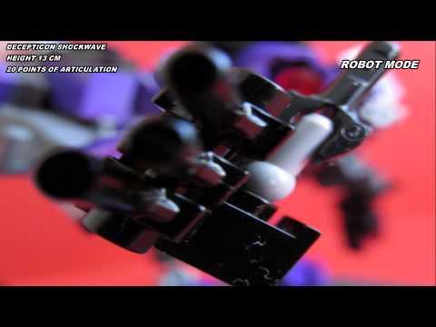 LEGO Transformers Decepticon Shockwave