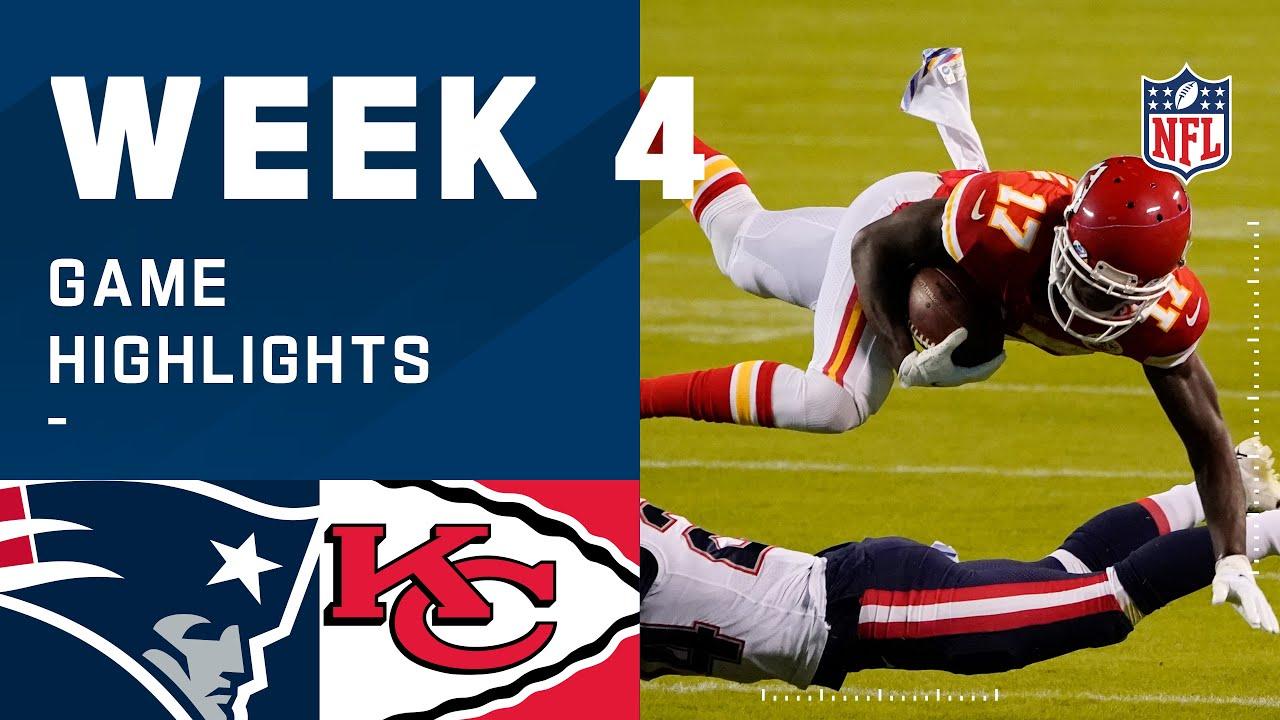 Patriots vs. Chiefs Week 4 Highlights | NFL 2020