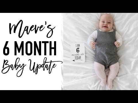 6 Month Old Baby Update | CHICKEN POX HITS!