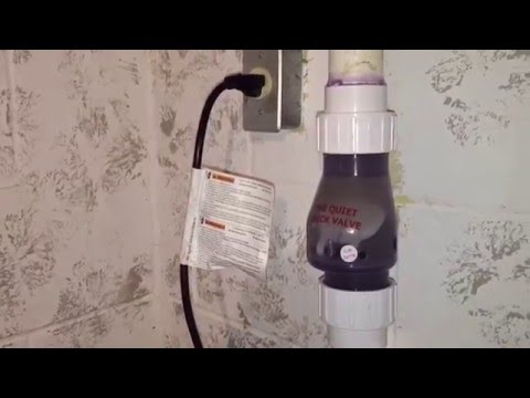 How to install a quiet check valve on your sump pump