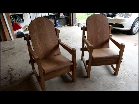Viking Throne Inspired Deck Chairs