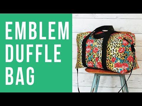 Trailer: Emblem Duffle Bag Online Workshop