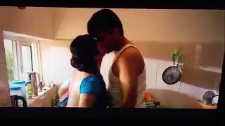 Hot bhabhi navel kiss blouse removal sex scene in saree