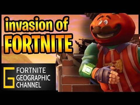 Fortnite Geographic | The invasion of Venus | Replay mode cinematic