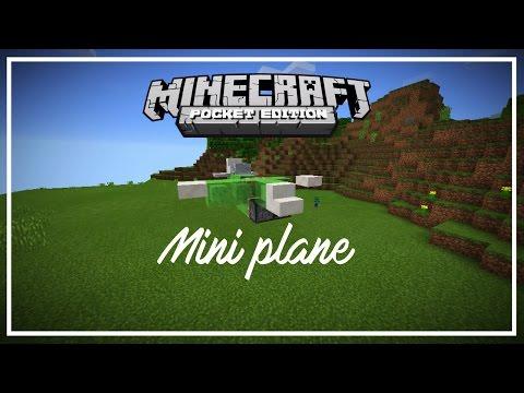 Minecraft PE 0.15.9/0.16.0 | How To Make A Plane