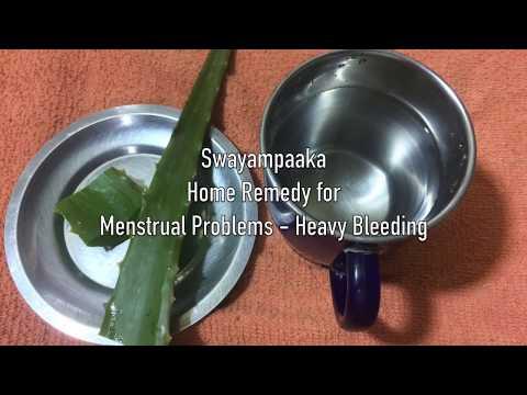Home Remedy - Menstrual problems - Remedy for Heavy Bleeding   Mane maddu