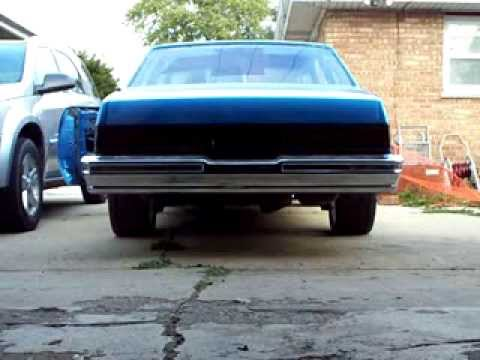 1979 malibu L.E.D. tail lights on car