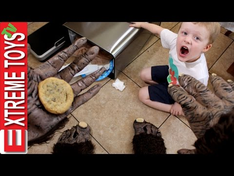 Did Bigfoot Eat My Cookie? Extreme Toys TV gets Another Visit from Sasquatch