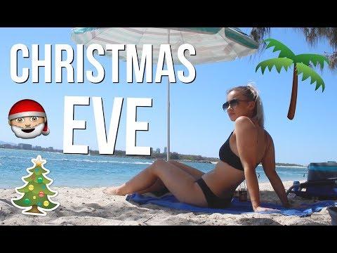 VLOGMAS DAY 24 // Christmas Eve At The Beach!