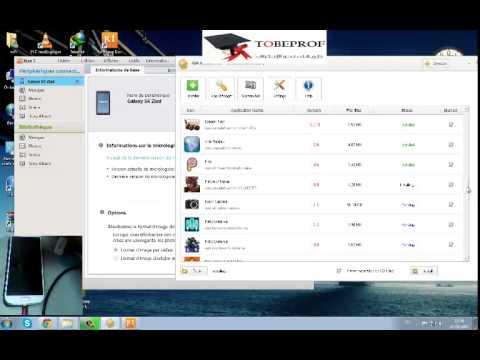 شرح تحميل و نقل البرامج و الالعاب من الكمبيوتر الى هاتف  samsung s4