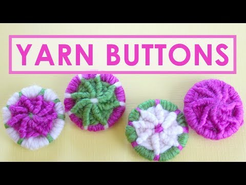How to Make YARN DORSET BUTTONS | Craft Project for Everyone