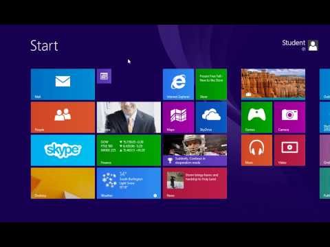 Windows 8.1: Opening and Closing Apps
