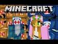 Minecraft Little Lizard Youtuber Lucky Blocks War Little Kel