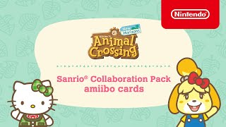 Get Ready for a Sanrio Crossover! – Animal Crossing: New Horizons – Nintendo Switch