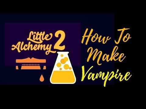 Little Alchemy 2-How To Make Vampire(Halloween 🎃 ) Cheats & Hints
