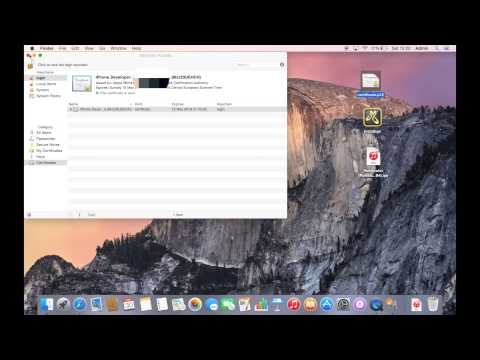 How to install a certificate on Mac OS X