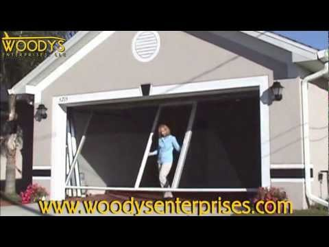 Garage Conversion: How to Video | Breezy Living Screens by Woodys Enterprises