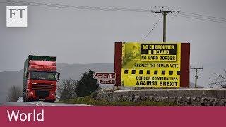 Irish border plan derails Brexit talks