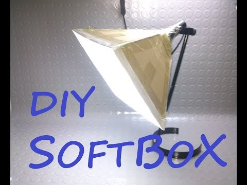 DIY - How to Make  Desktop Lamp Softbox!