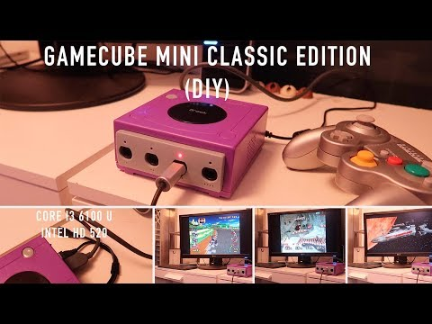 Gamecube Mini Classic Edition (DIY) - i3 running Dolphin