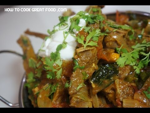 Indian Lamb Chop Curry Recipe - Mutton Masala