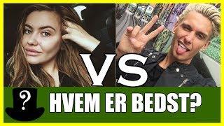 HVEM ER BEDST? Fie Laursen vs Boris Laursen