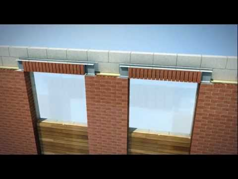 How to install brick arch sets - Keystone Lintels