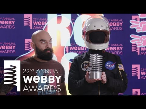 Auralnauts' 5-Word Speech at  the 22nd Annual Webby Awards