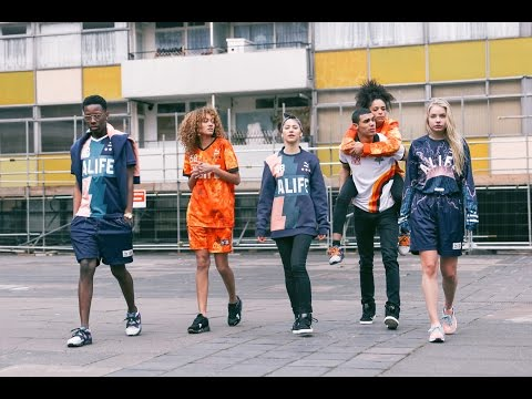 Behind the Scenes of the ALIFE x PUMA Collection Shoot in Shoreditch