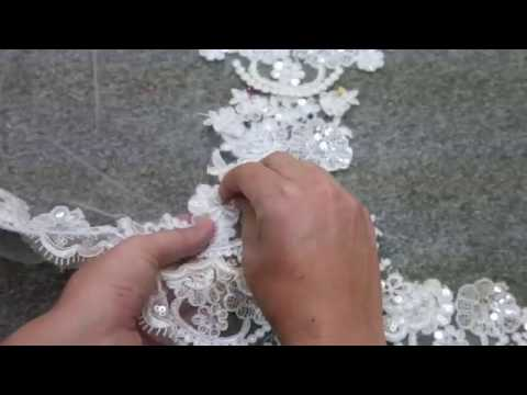 Making a Wedding Veil- Blanca Veils