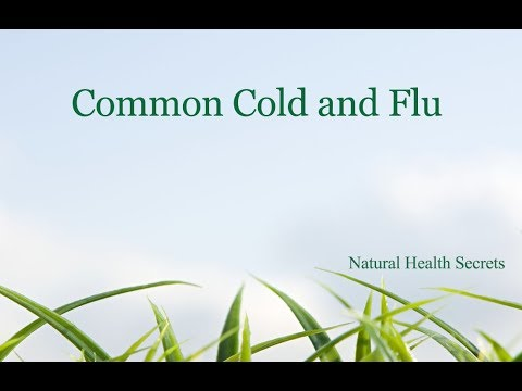 [Natural Health Secrets] Episode 13: Common Cold and Flu