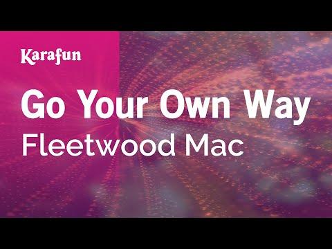 Karaoke Go Your Own Way - Fleetwood Mac *