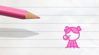 Bubblegum Grump   Pencilmation Cartoon #32