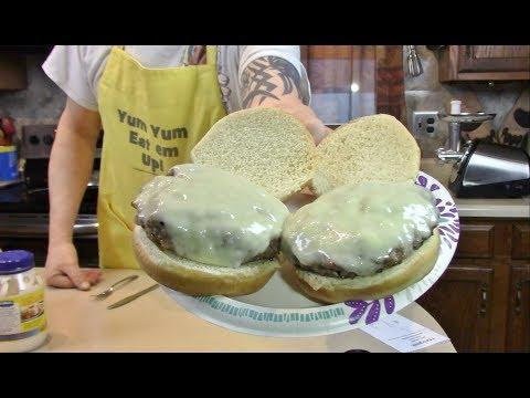 Bacon + Angus Beef 50/50 Burger  Homgeek Meat Grinder