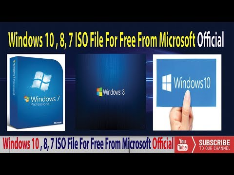 How to Original Windows 7,8,10 all ISO file free download (100% Free & Legal)✔️