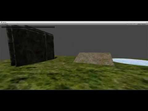 FPS Controller test [Unity3D, C#] (WIP)