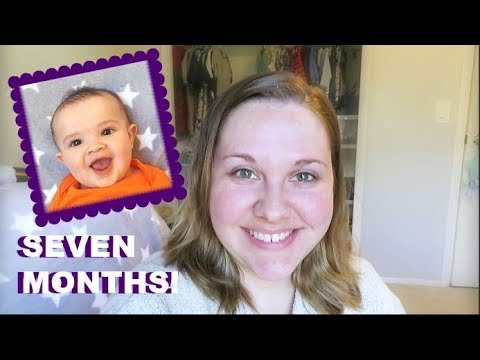 Rowan's 7 Month Update! | First Real Cold