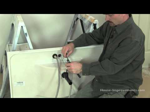 How To Install a Bathroom Faucet & Drain