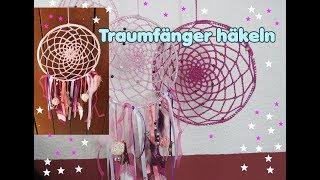 Traumfänger Häkeln Häkelanleitung By Carolines Welt Dreamcatcher