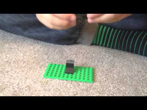 How To Make Minecraft Enderman with Lego