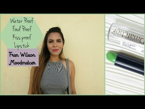 Fran Wilson Moodmatcher Lipstick-Water Proof, Food Proof, Kiss proof Lipstick