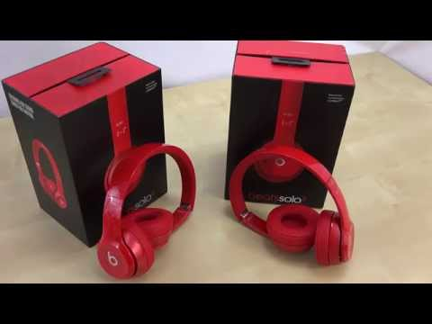Beats by Solo 2 vs Fake Solo 2 | How to Tell The Differences | Real Vs. KnockOffs by Dr.Dre