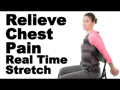 Relieve Chest Pain with This Real Time Pec Stretch - Ask Doctor Jo