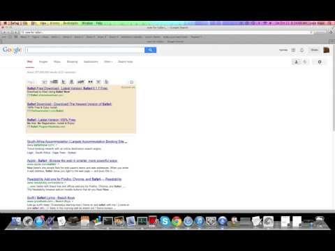 How so change your homepage on Safari or Chrome
