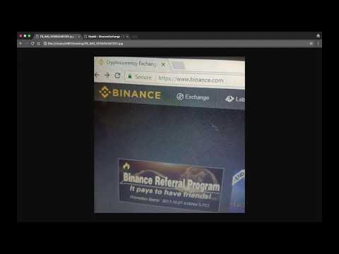 Watch out for fake Binance cryptocurrency exchange urls trying to steal your information.